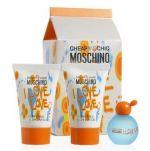 Zestaw - Moschino Cheap & Chic I Love Love